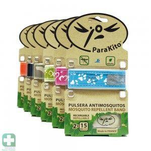 13,95 PVP Especial - Pulseras antimosquitos que actúan como repelente y con las que podrás salir tranquilamente a la calle en zonas plagadas de mosquitos y otros insectos