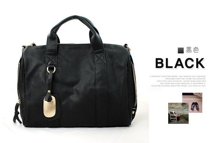2015 hot sale Big bags women's fashion handbag casual messenger bag fashion rivet bag Simple women Bolsos-in Shoulder Bags from Luggage & Bags on Aliexpress.com | Alibaba Group