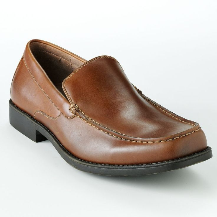 Details about Croft & Barrow dress shoes Slip On Leather solid ...