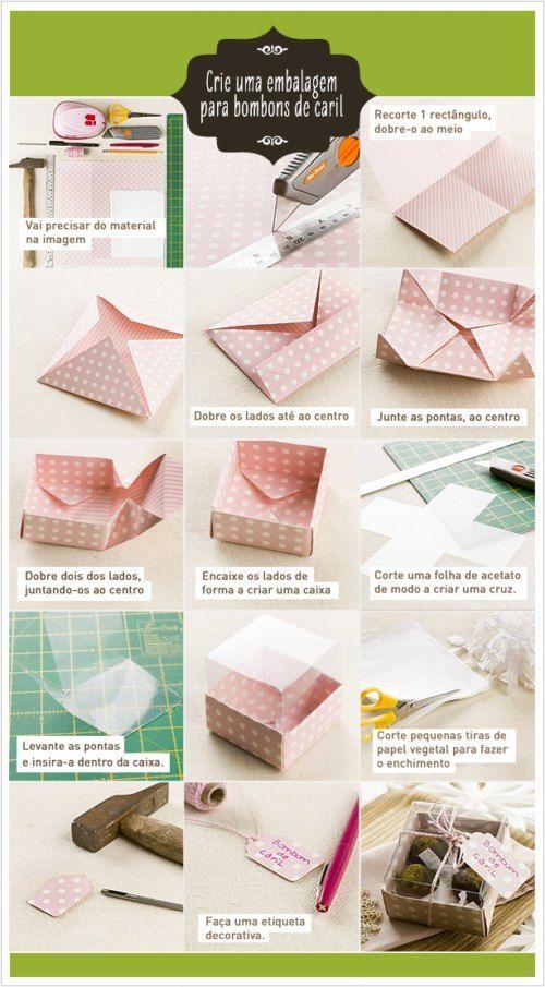 como hacer cajas para bombones                                                                                                                                                                                 Más