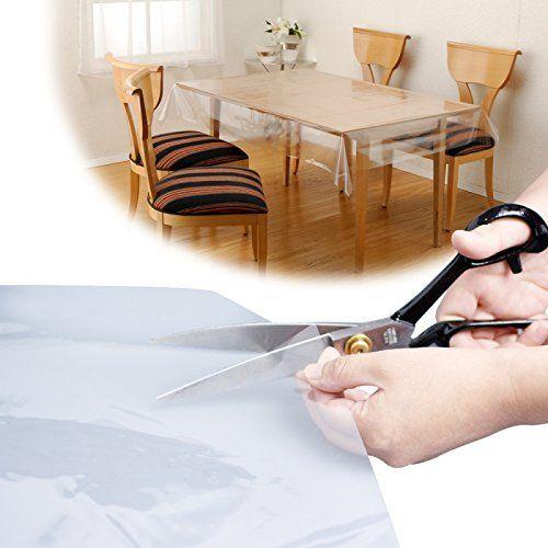 汚れ防止 透明 テーブルカバー ビニールカバー テーブルクロス 透明 マルチカバー 大