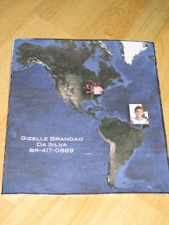 This sponsor used a Google Map image, then added pictures of her family and her sponsored child to show where each of them lives.