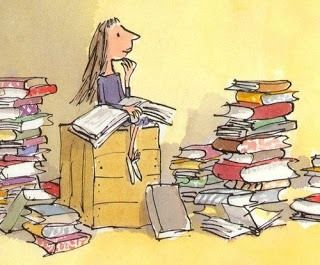 """So Matilda's strong young mind continued to grow, nurtured by the voices of all those authors who had sent their books out into the world like ships on the sea. These books gave Matilda a hopeful and comforting message: You are not alone."" (Roald Dahl)"