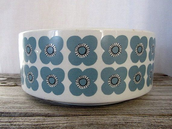Arabia Finland Veera Bowl 1960s by PivisFinnishVintage on Etsy
