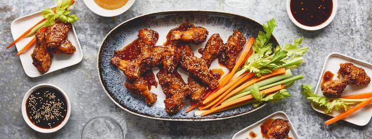 Veri Veri Teriyaki Chicken Wings Recipe   Soy Vay®