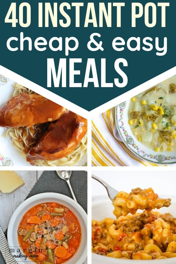 45 Of The Best Easy And Cheap Instant Pot Recipes For Dinner Instant Soup Recipe Pot Recipes Instant Pot Recipes