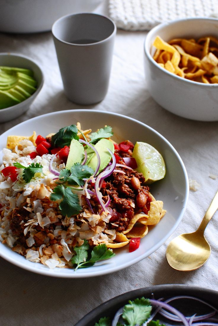 Mexican Fiesta Bowls from @bevweidner