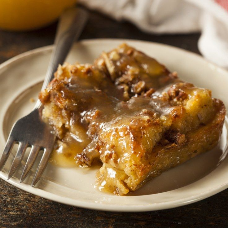 Bread Pudding with Warm Bourbon Sauce