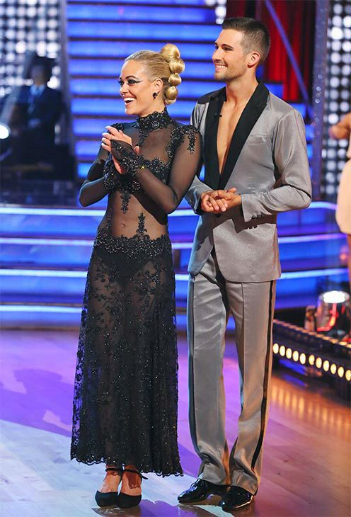 james and peta dating dancing with the stars James maslow and peta murgatroyd dance the samba on week 7 of 'dancing with the stars' on april 28, 2014.