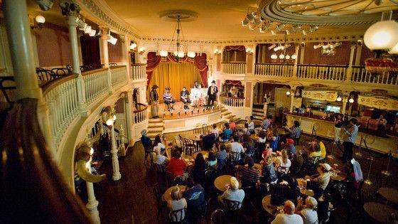 Golden Horseshoe Restaurant | Dining & Restaurants | Disneyland Park | Disneyland Resort