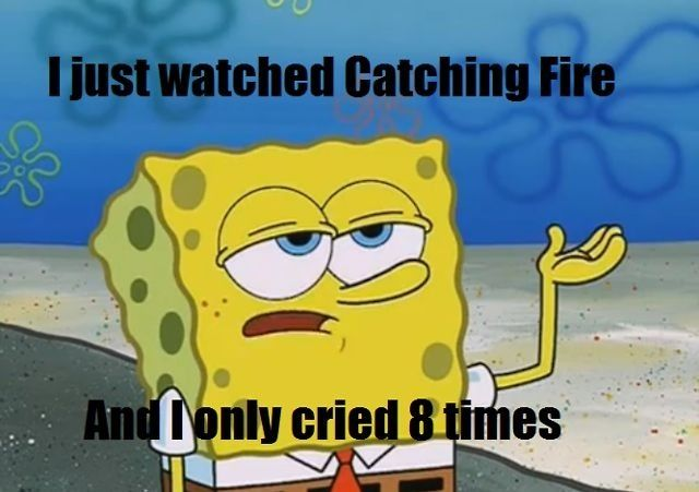 Lol haha funny pics / pictures / Sponge Bob Humor / Hunger Games Humor / Catching Fire