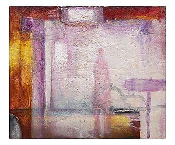 Dipinto su tela Messaggi su tela - 80x70 cm