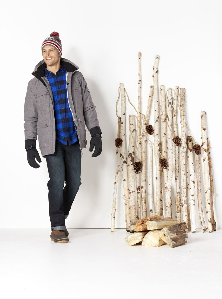 Baby It's Cold Outside Keep him warm with our huge selection of insulated jackets, soft flannel shirts, lined jeans and all the trimmings. Just some of the many gift ideas for the outdoorsy guy on your list!