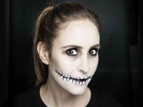 idée de maquillage zombie facile à faire