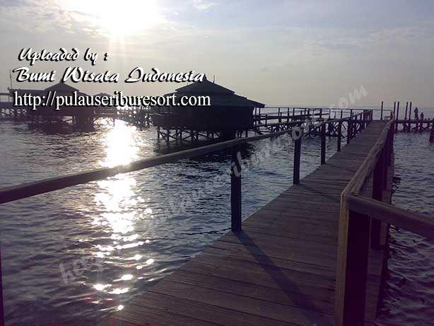 Bidadari Island Cottage - Thousand Islands   Penginapan Floating Cottage Pulau Bidadari Resort - Kepulauan Seribu