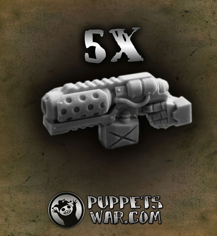 Flamethrowers set (left hands) https://puppetswar.eu/product.php?id_product=218
