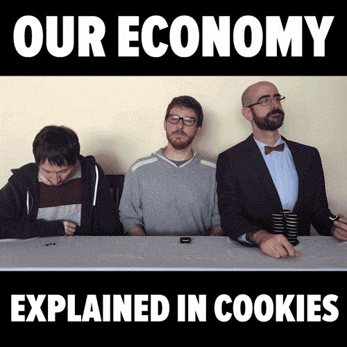 Enjoy Economy explained in cookies ANIMATED GIF. A GIF is worth a million words. Explore best animated GIFs on SpeakGIF.