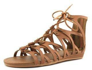 Sugar Caramel Youth Us 4 Brown Gladiator Sandal.