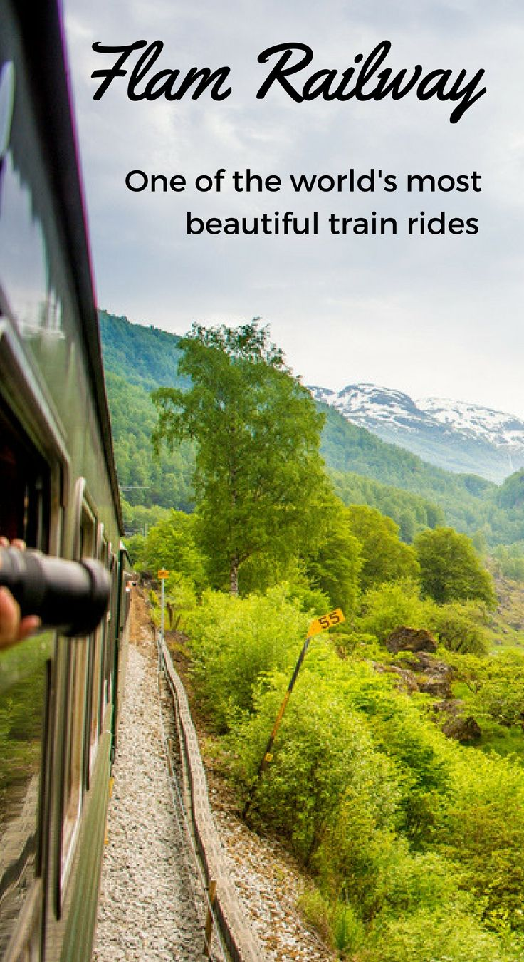 One of Norway's top tourist attractions, the Flam Railway is also one of the world's most beautiful train rides. Hop aboard, and join us in this incredibly scenic journey!
