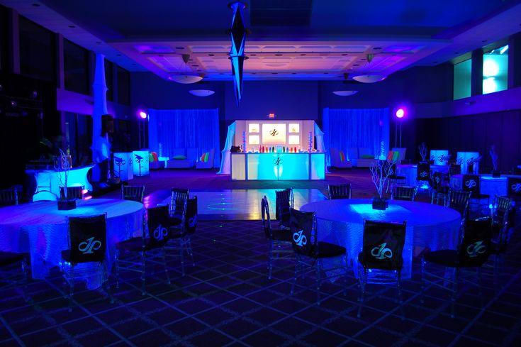 Black light party Bar Mitzvah