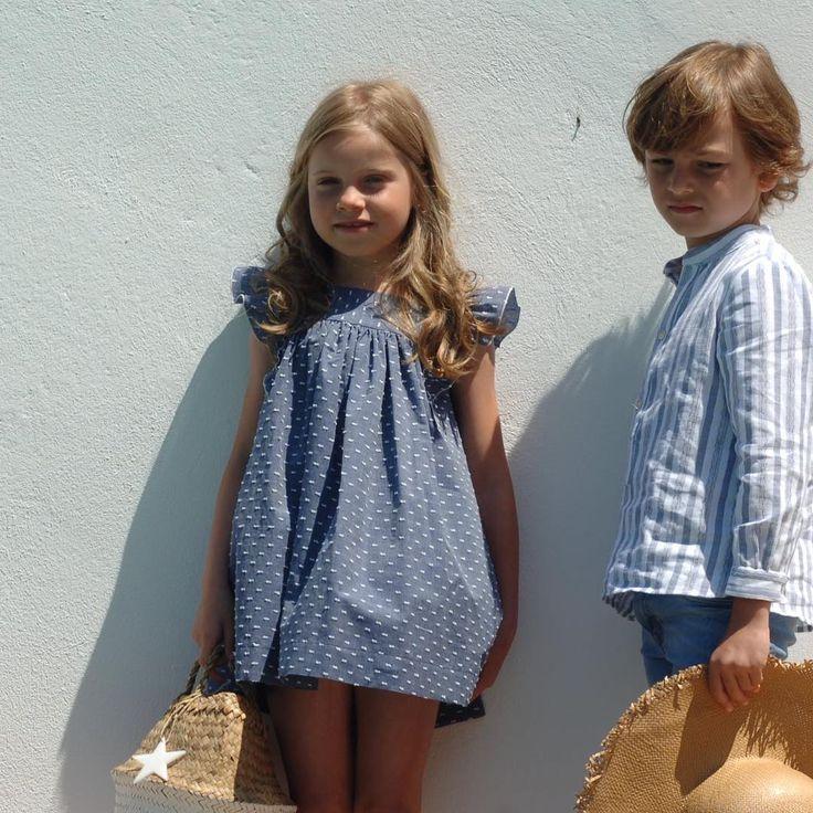 "Vestido ""Lola"" ahora 33€!!!!!!!! Www.mitruchita.es #rebajas #verano17 #vestidos #plumetti #mitruchita #girlsclothes"