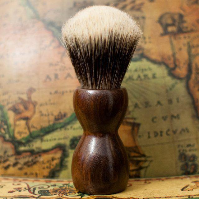 New shaving brush Essentia italian walnut  Manchurian - Reserved to Giancarlo!   #essentiabrushes  #essentiatumblr  #wood  #legno  #walnut #shavingbrush  #Manchurian  #shaveoftheday  #rasaturatradizionale  #rasatura  #brushes #wetshaving #shavelikeyourgrandpa #wetshave #traditionalshaving #italianwetshavers #italianbarber #masterbarber #americanbarbershop #barbershop #barbershops #barba #barber #sotd #barbershop3 #art #sotd #barbershops #barberlifestyle #barbershopconnect