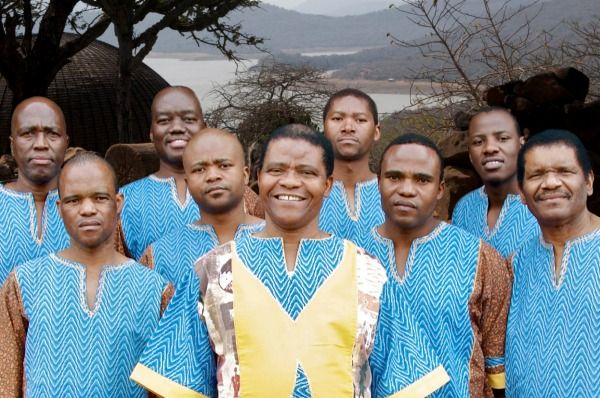 2016 Top ten acts for Womad New Zealand at the TSB Bowl of Brooklands: Black Mambazo (South Africa)