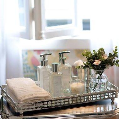Click Interiores | Bandejas no Banheiro, Boa Idéia!  /  Click Indoors | Trays in the bathroom, Good Idea!