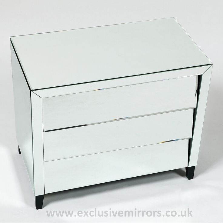 venetian style mirrored chest ofdrawers