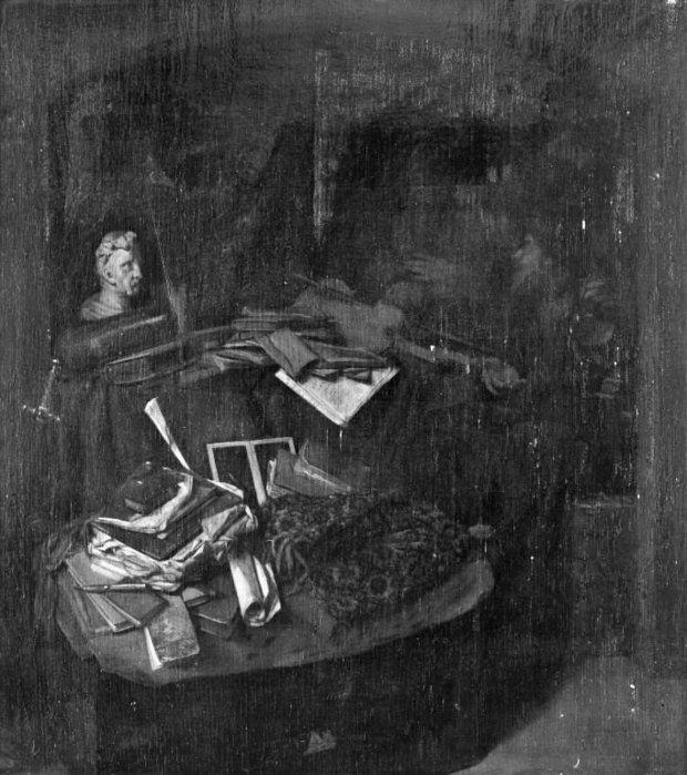 Бега Корнелис Питерс (Bega, Begga, 1620-1664) - Старый доктор-еврей консультирует женщину