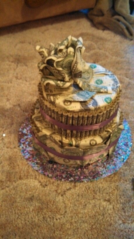 dollar bill cake - photo #8
