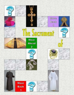 Sacrament of Holy Orders (file folder game)- Students must answers questions and identify pictures about the Sacrament of Holy Orders.