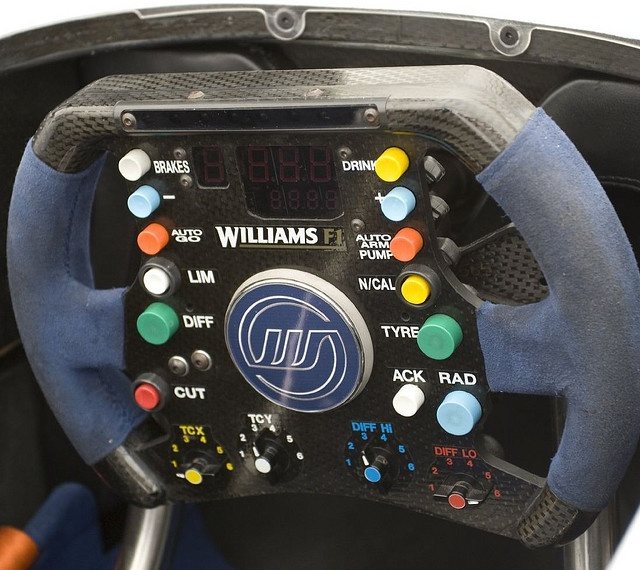 Williams F1 FW25 Steering wheel