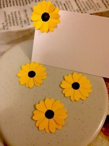 100 Paper Sunflowers Summer Wedding Party Table Confetti 3D Flowers