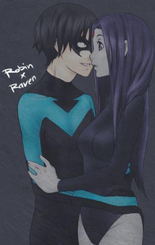 raven fan art | Robin and Raven - raven-and-robin Fan Art