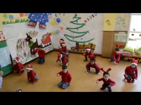 """Coreografia  nadala  Rudolph  Villancico Educación Infantil 3, 4 y 5 años """"Rodolfo el reno"""" - YouTube"""