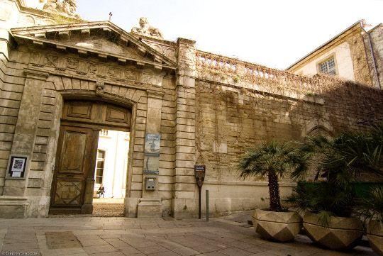 Avignon - A deux pas de la Place de l'Horloge, la Maison Jean Vilar occupe l'Hôtel de Crochans. L'établissement regroupe un espace d'exposition, une vidéothèque, une bibliothèque spécialisées dans les arts du spectacle ainsi que les archives personnelles du metteur en scène et acteur.