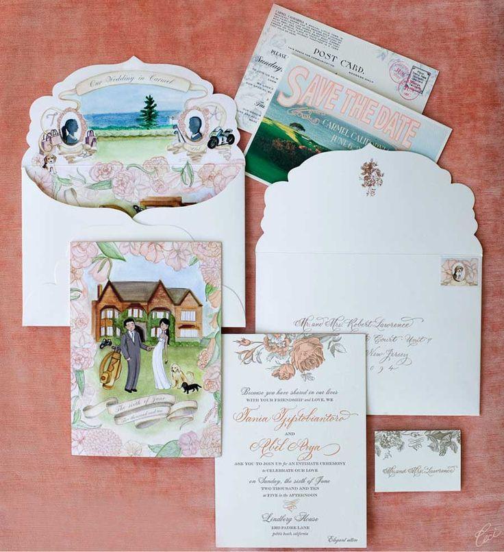 Personalized Wedding Invite Ceci New York