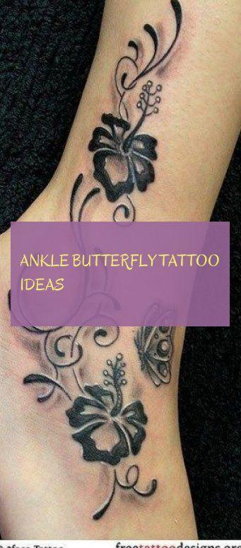 ankle butterfly tattoo ideas knöchel schmetterling tattoo ideen butterfly tatto…