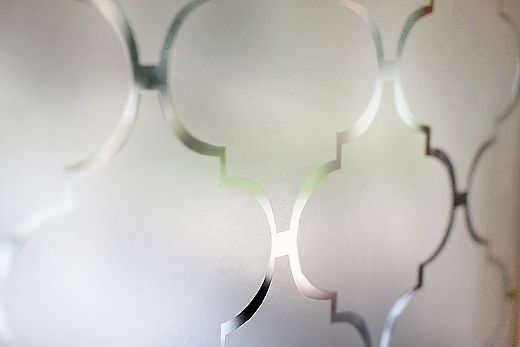 DIY Window Privacy Film Using Contact Paper | Remodelaholic | Bloglovin'