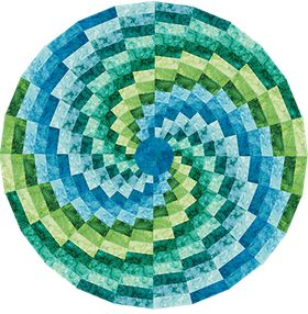 USES THE 15 DEGREE WEDGE    Bargello Color Wheel