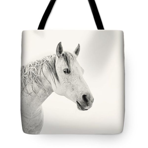 "All Tote Bags - ""Still"" western horse Tote Bag by Amanda Smith"