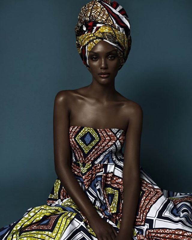 Ethiopian model Israela Avtau