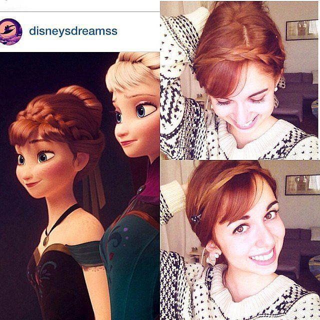 Do You Wanna Build an Updo? 5 Cool Hairstyles Inspired by Frozen - Anna's Coronation Hair