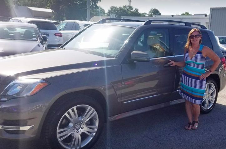 Ms. Mary Garcia is a longtime client. We truly appreciate her loyalty and congratulate her on the purchase of this beautiful 2013 Mercedes-Benz GLK350. #ZTMotorsHappyClients #mbfwb #luxury