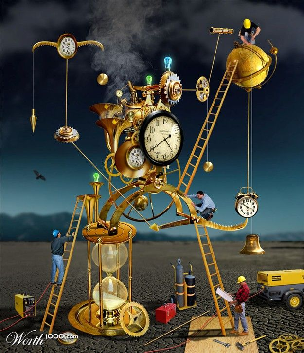"Chop A Clock Contest .... ""Clockworx"" ... Steampunk"