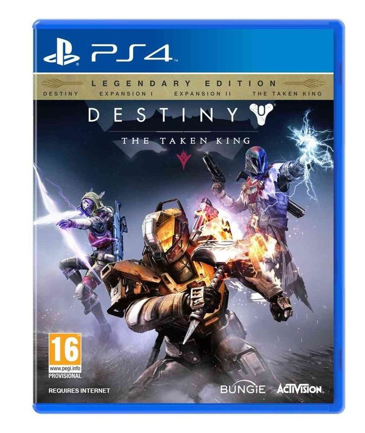 Destiny: The Taken King - Legendary Edition (PlayStation 4) - Bungie Software