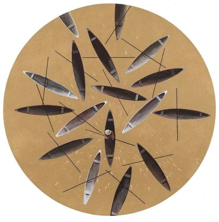 Pedro Ruiz, Perfect Circle, 2016, Beatriz Esguerra Art