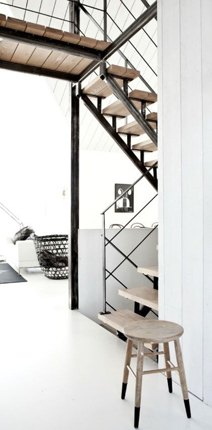 = white, wood and black