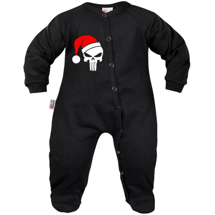 Pyjama bébé : CRÂNE DE NOËL